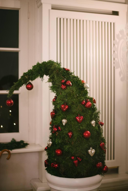 Winter weihnachtsbaum Hochzeit Wedding Grand Hotel Heiligendamm