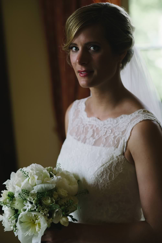 Portrait Braut Hochzeit Ulrichshusen