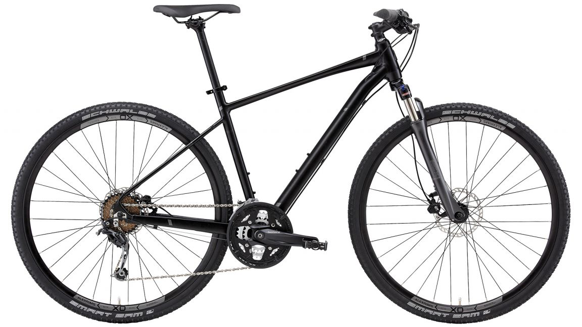 The San Rafael:  a bike that can glide over pavement or handle the bump and grit of bike paths and trails.