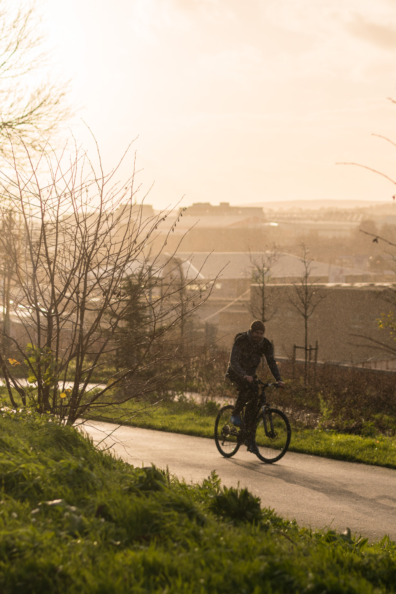 Sheffield is a stunning city to ride through.