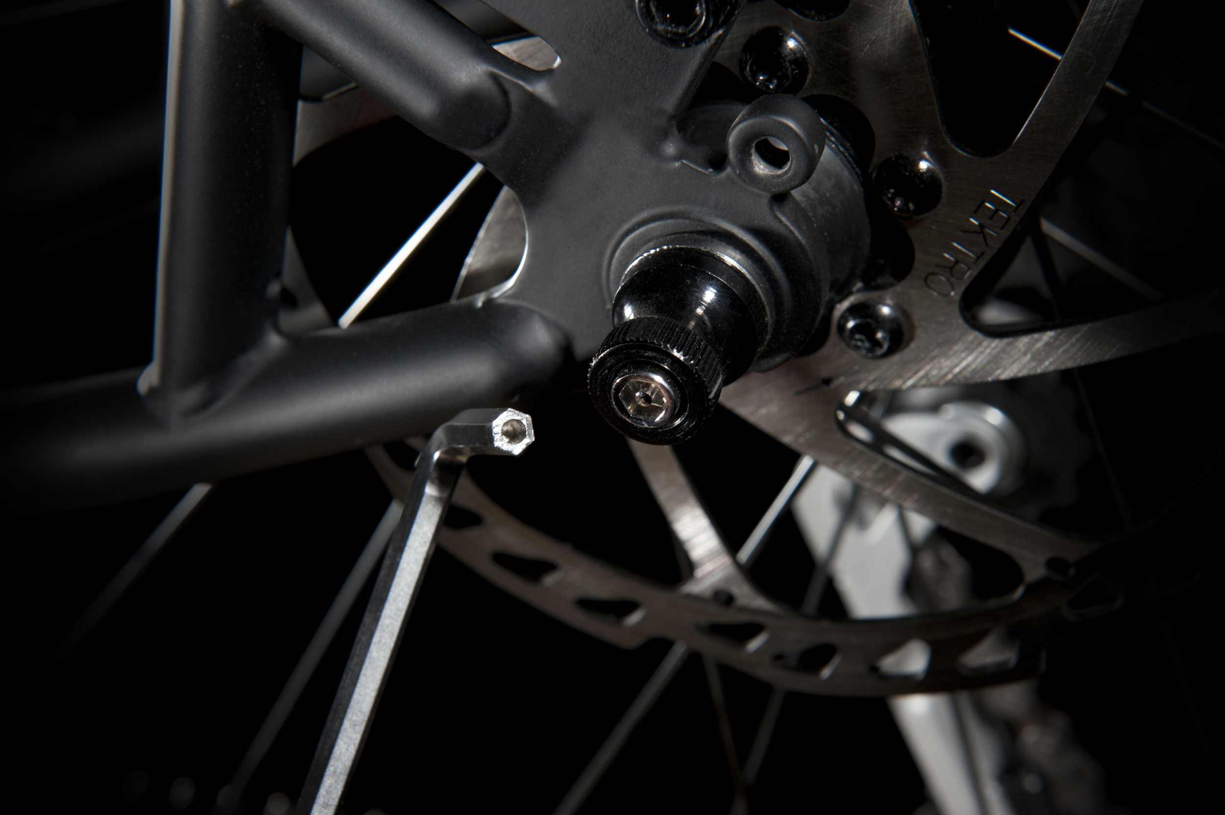Security Skewers come as standard on Marin Hybrids