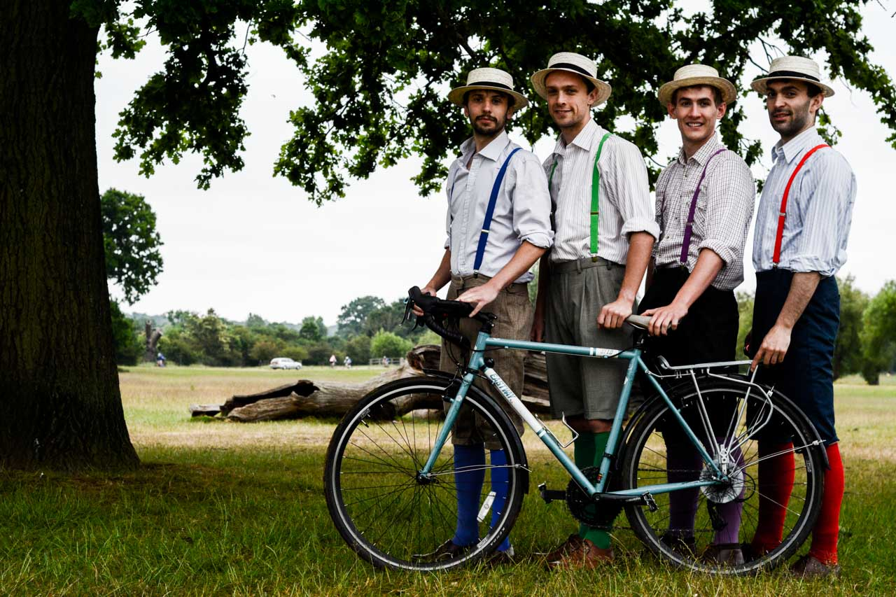 The Handlebards doing their thing
