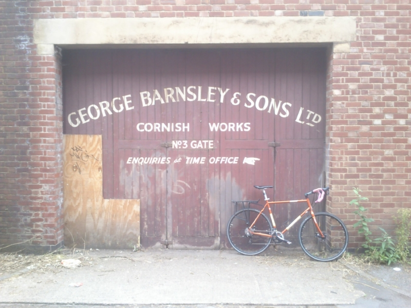 Another hidden relic from Kelham Island discovered by bicycle.