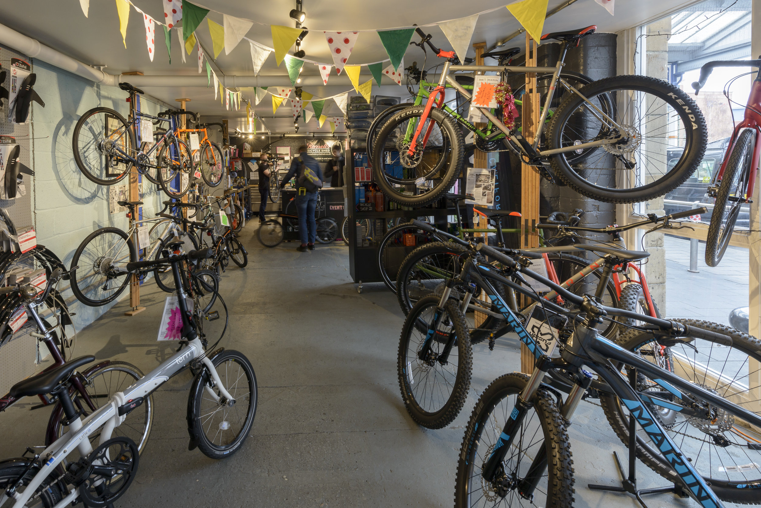Sheffield, S1 - Bicycle Shop