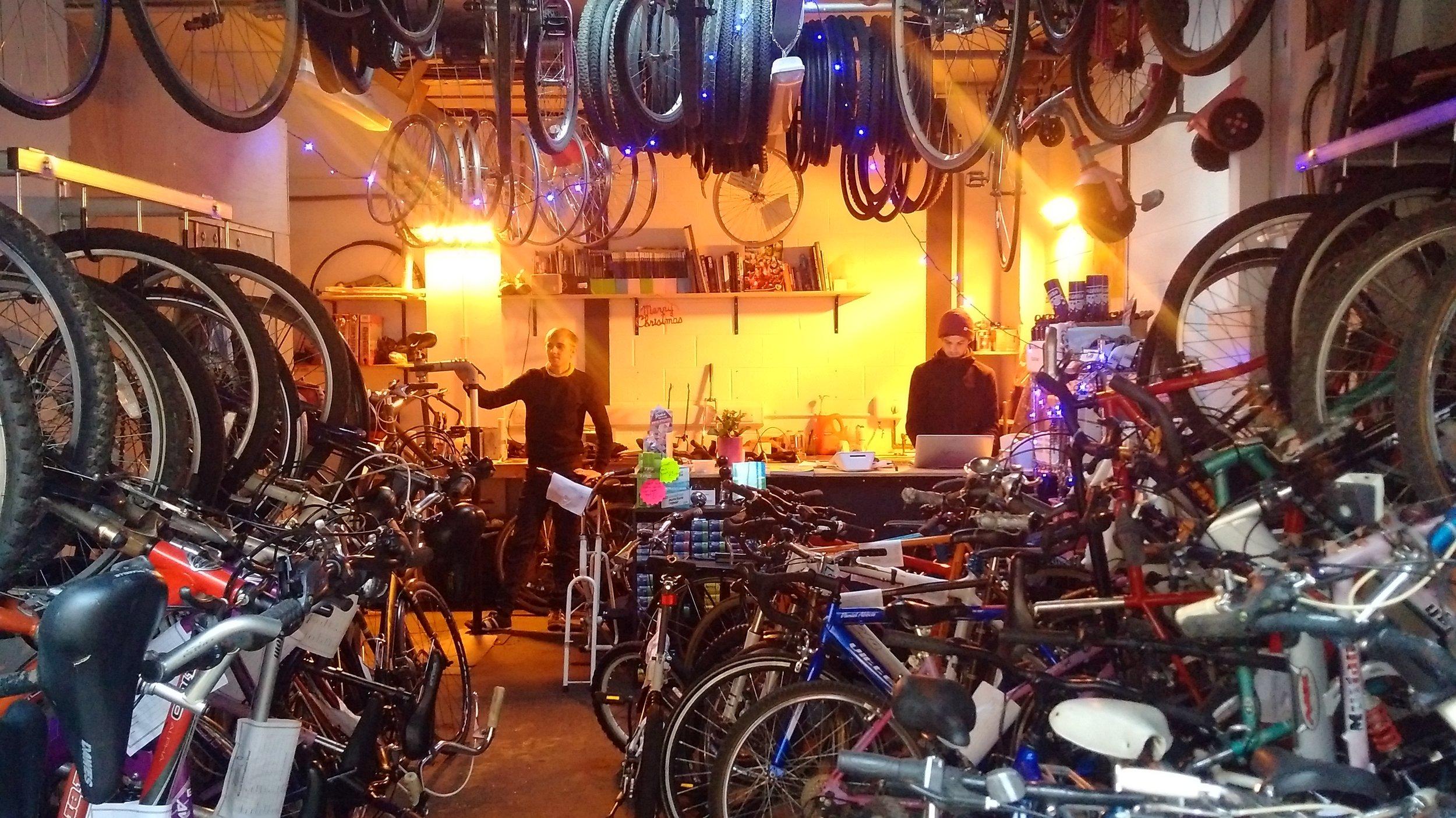 Neepsend, S3 - Bicycle Shop