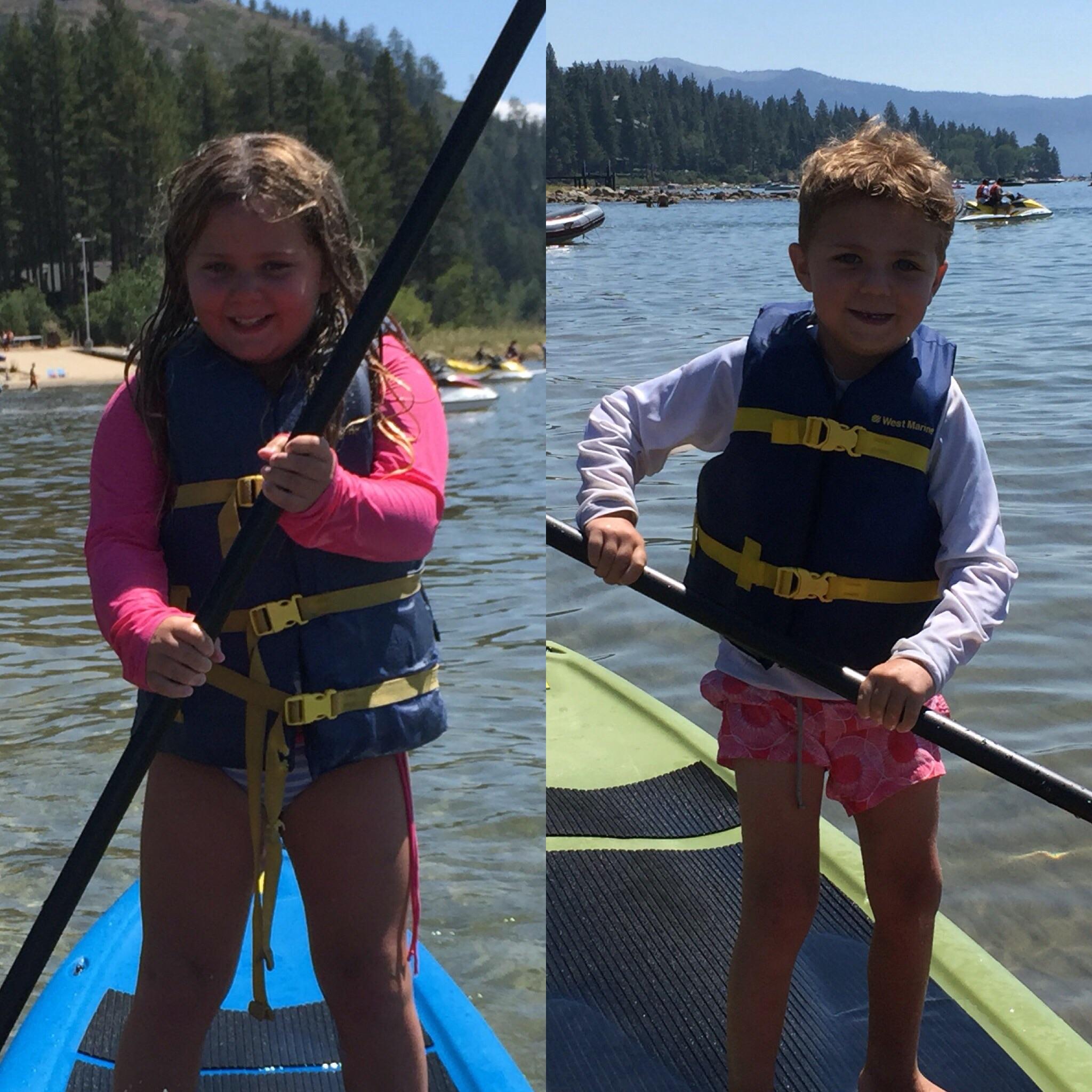 Rocking paddle boarding !!