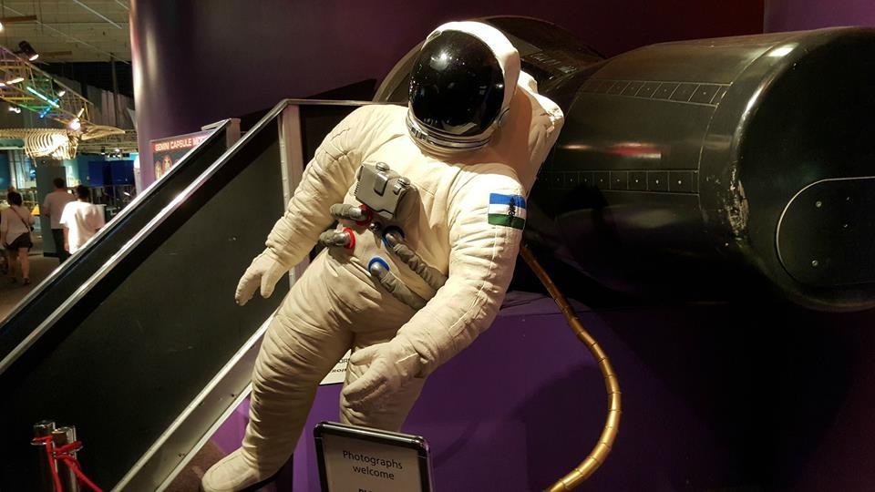 A Cascadian Astronaut