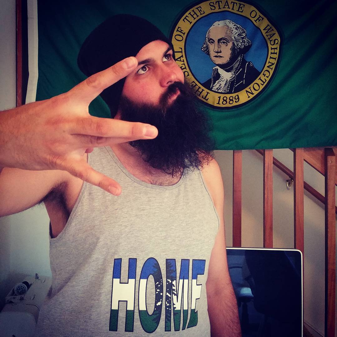 Reppin' that Cascadia Flava