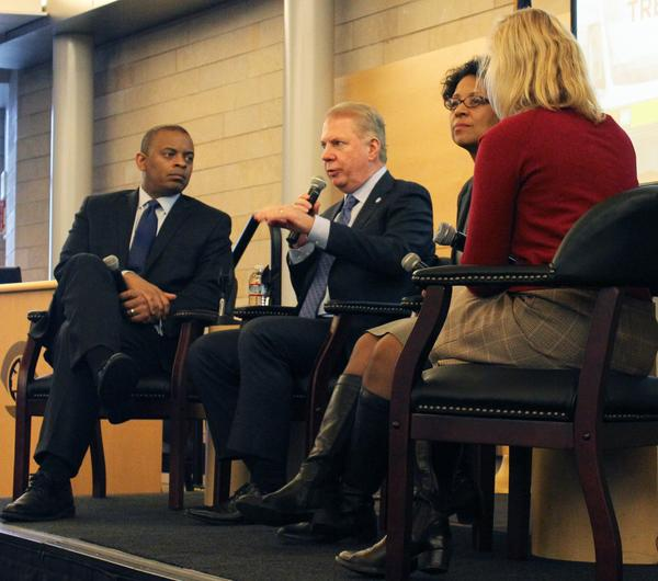 Seattle Mayor and Secretary of Transportation discuss transportation in the future, and the Cascadia Megaregion