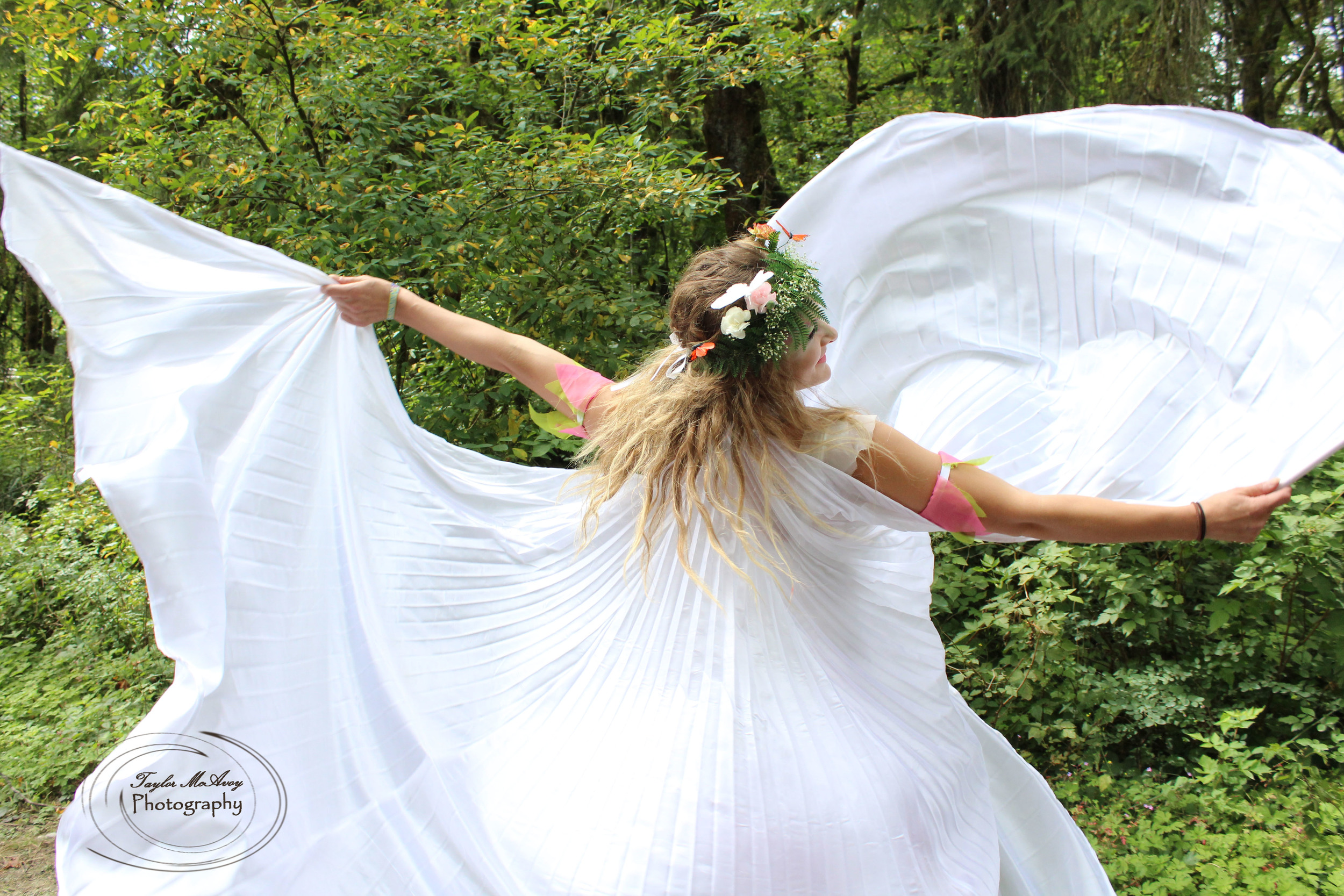Mythical faeries are real and they live in festival and forested environments.