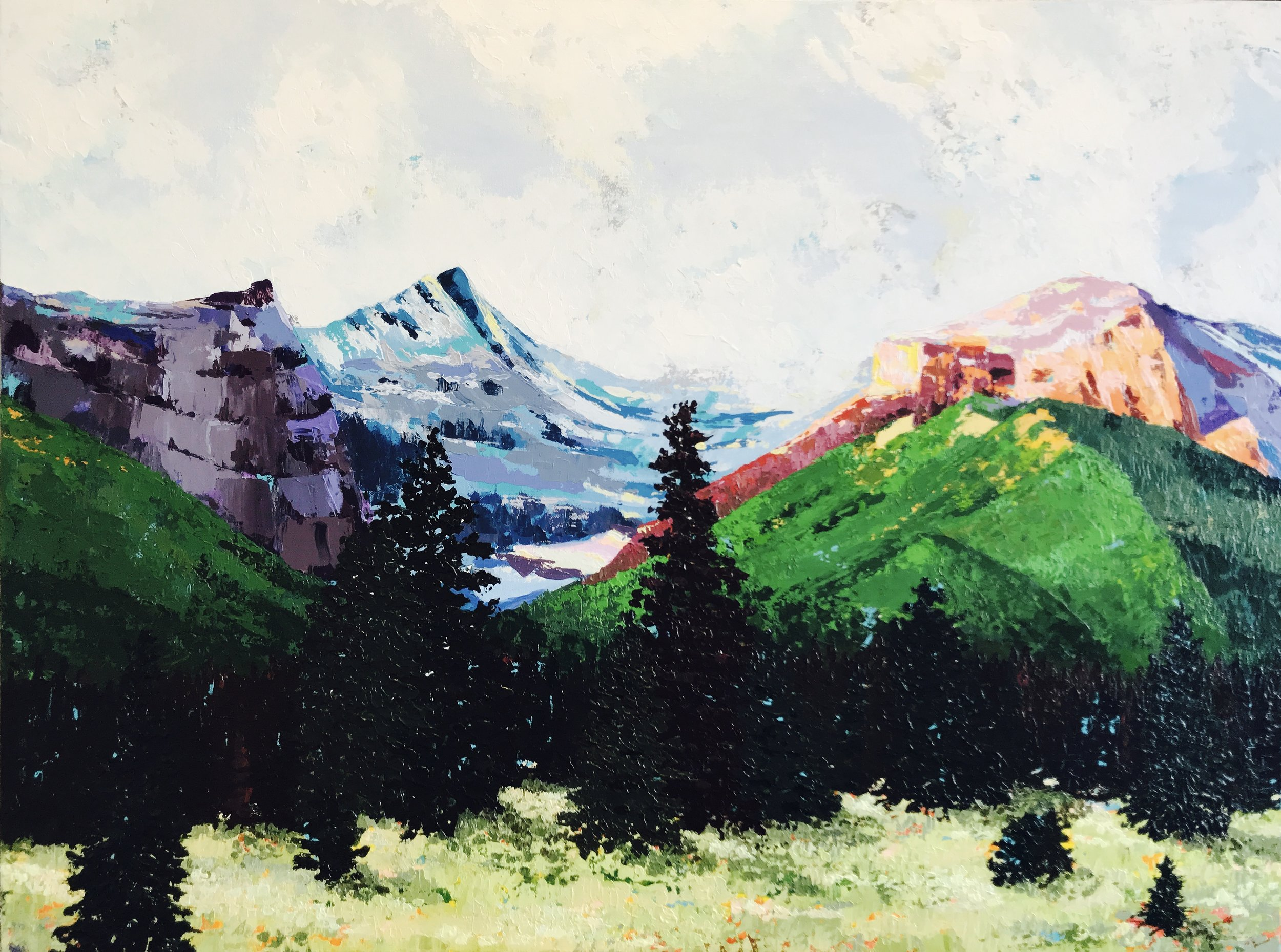 Dwenarchuk -Mount Black Prince 30x40 Acrylic on Canvas.jpeg