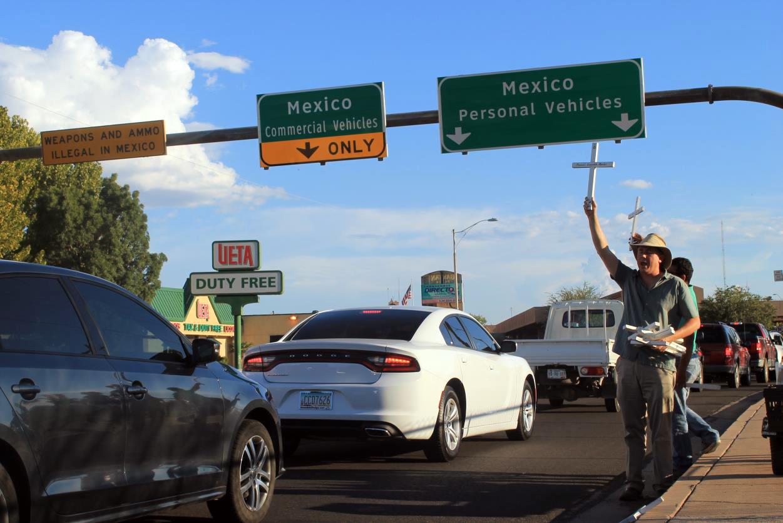 Marc Adams, el pastor y coordinador de Frontera de Cristo en Douglas, Arizona.  Foto: Jesús Francisco Quintero