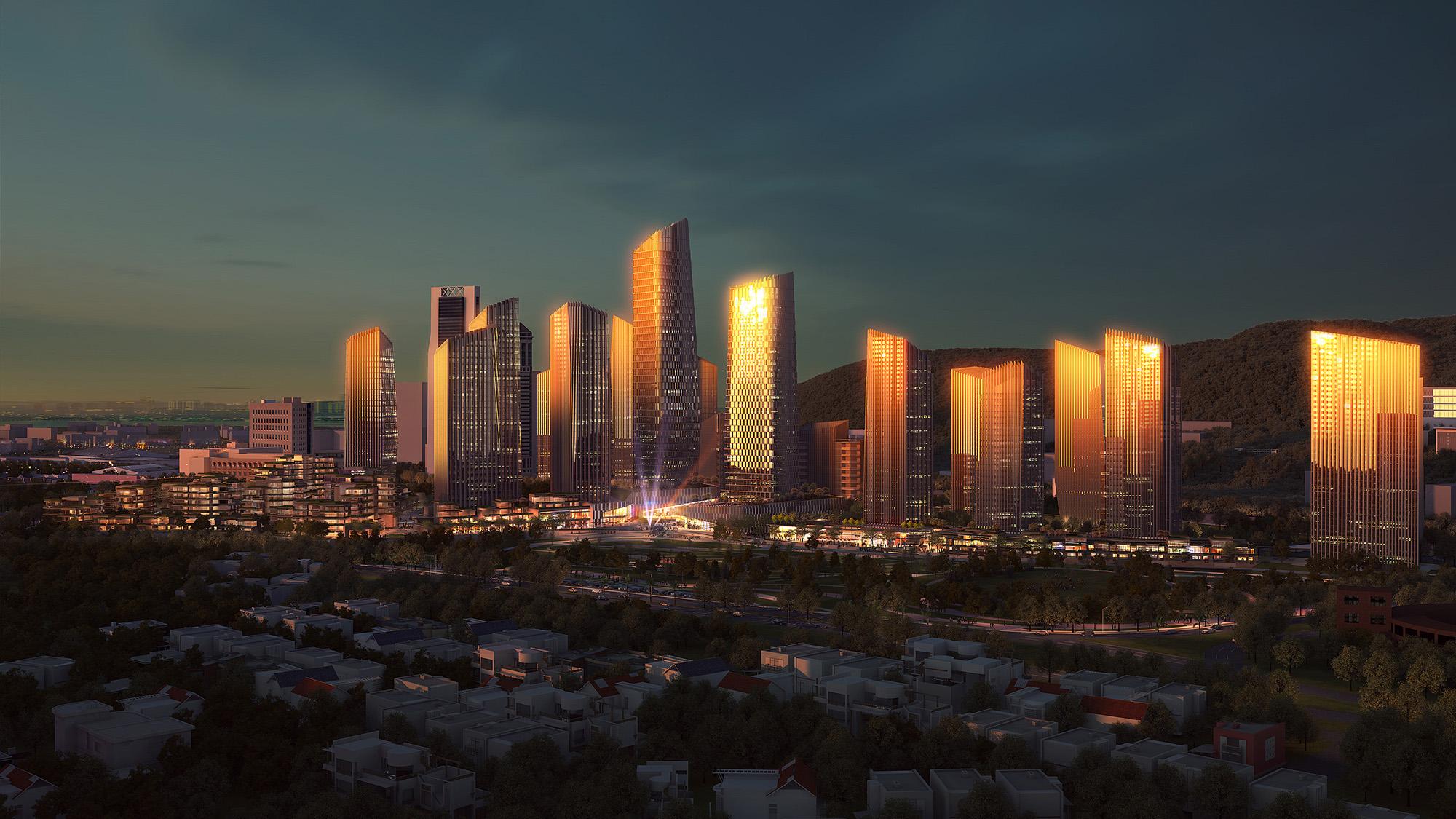 Render del Distrito Diego Rivera | GIM