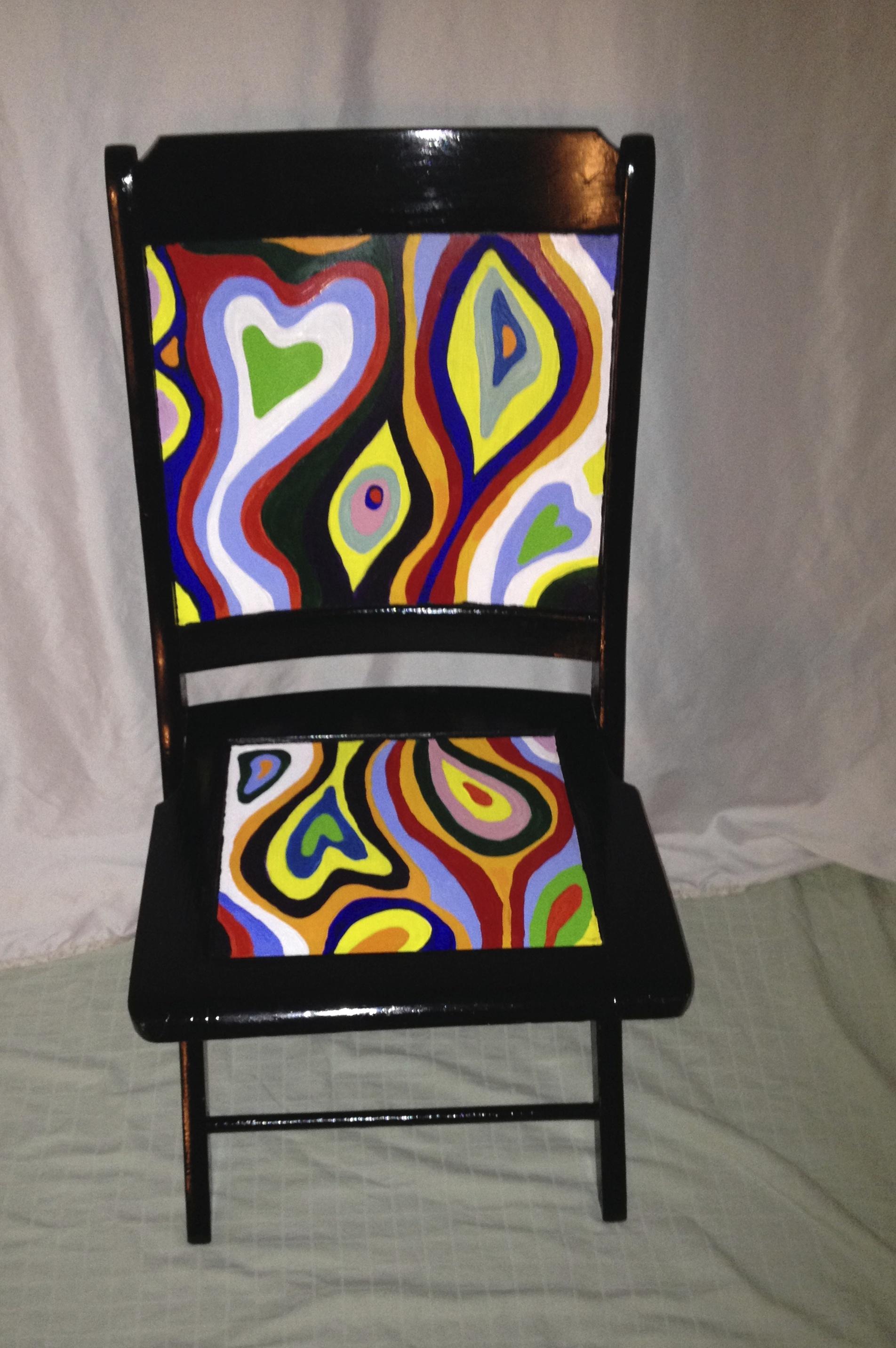 Chair # 31 Amy Lansky