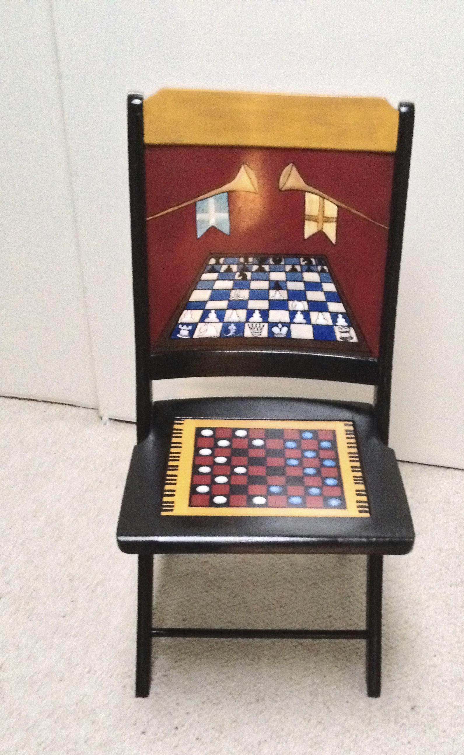 Chair # 11 Barbara Portman