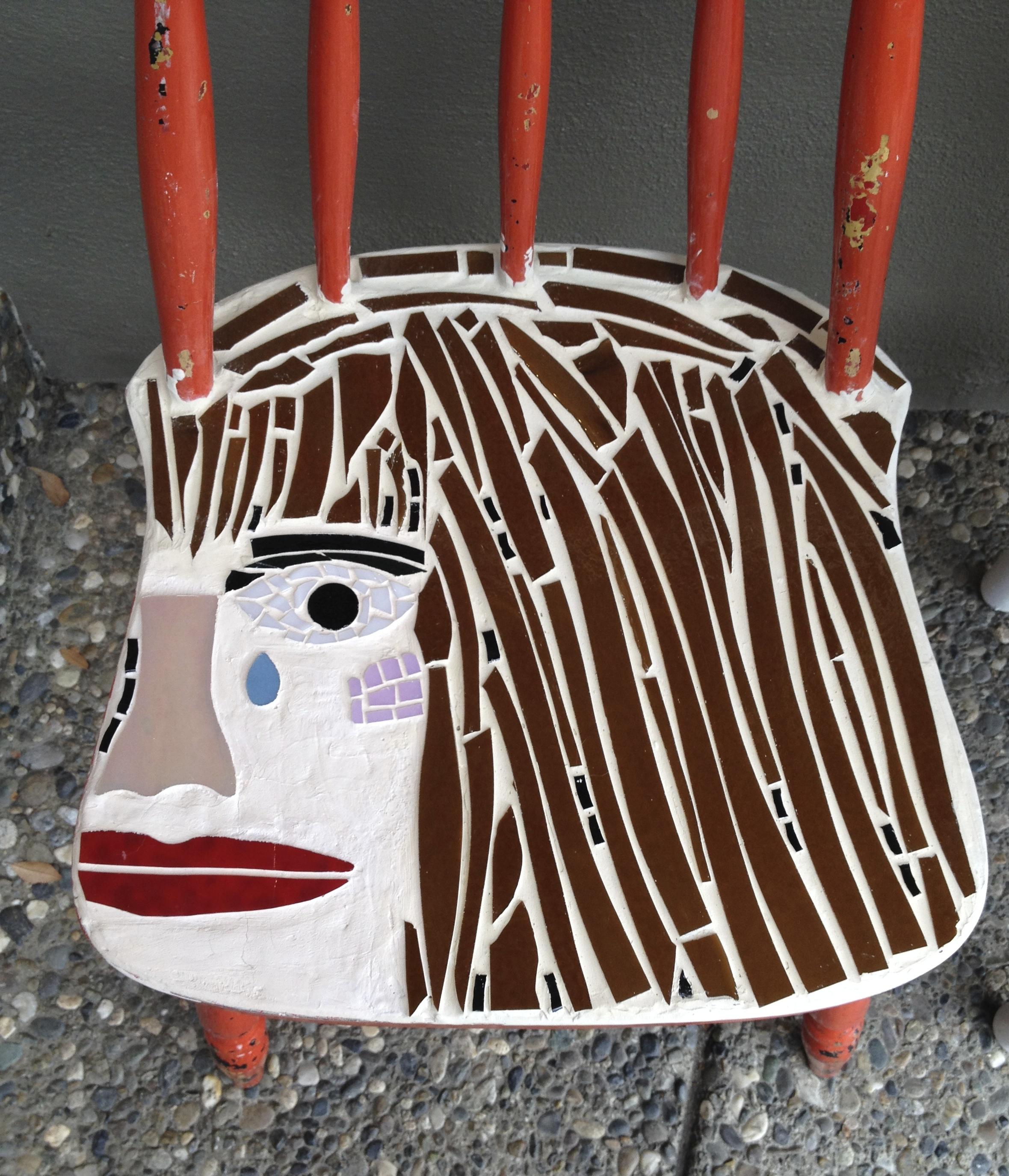 Chair # 72 Crystal Ouzillou