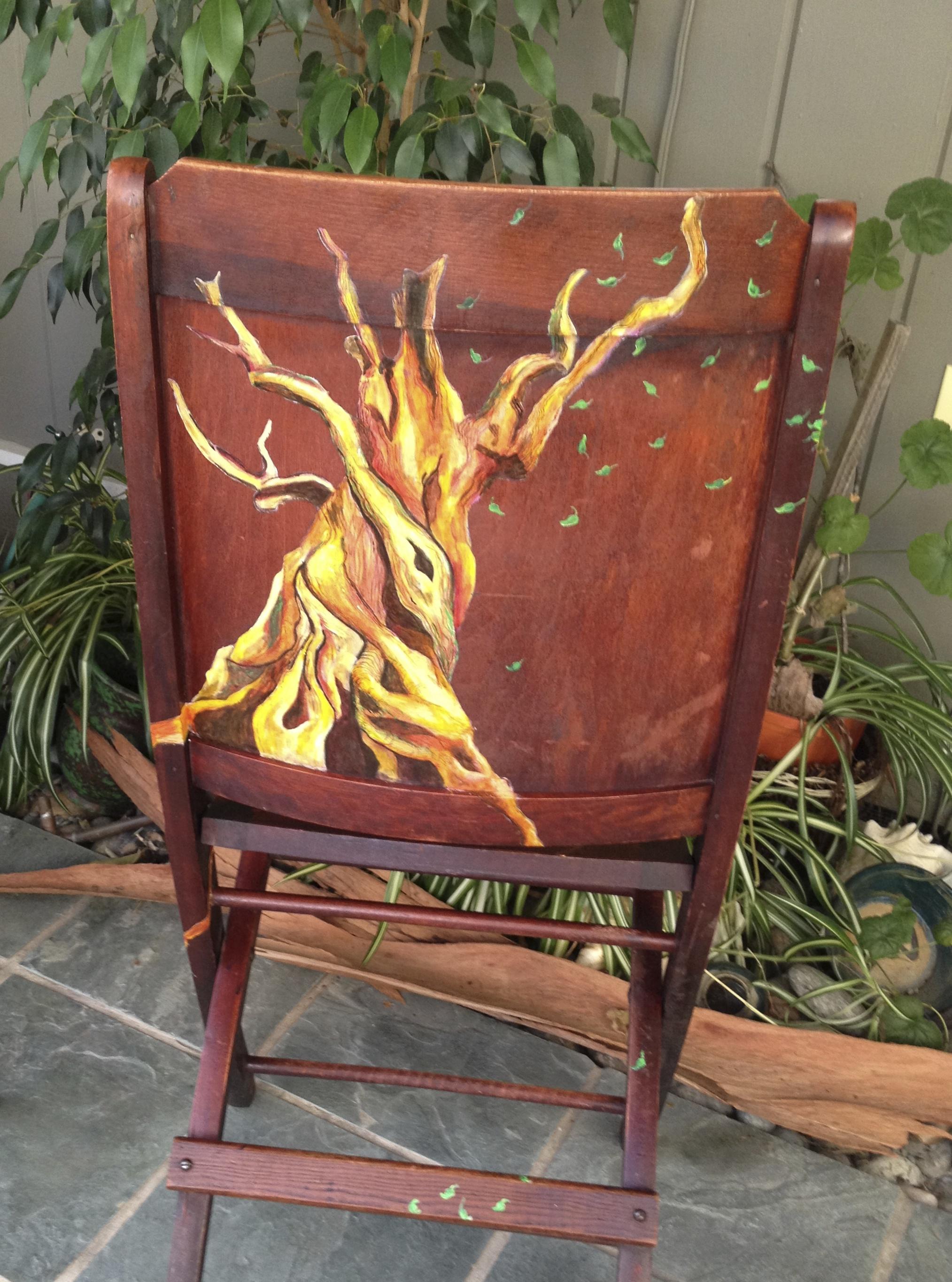 Chair # 8 Fiona Merridew
