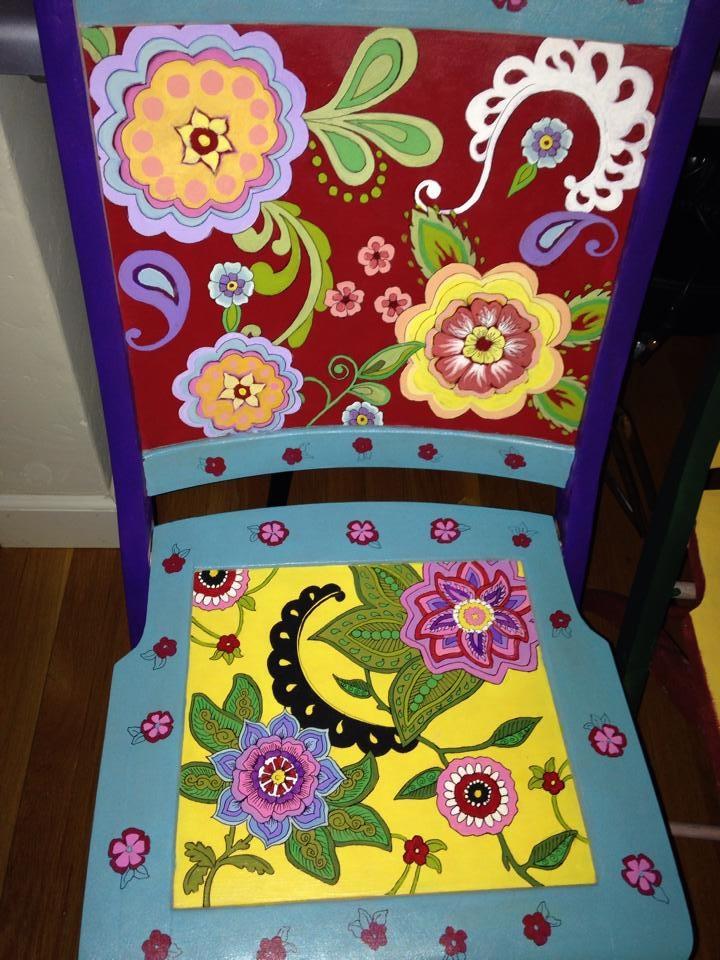Chair # 22 Joan Harvey
