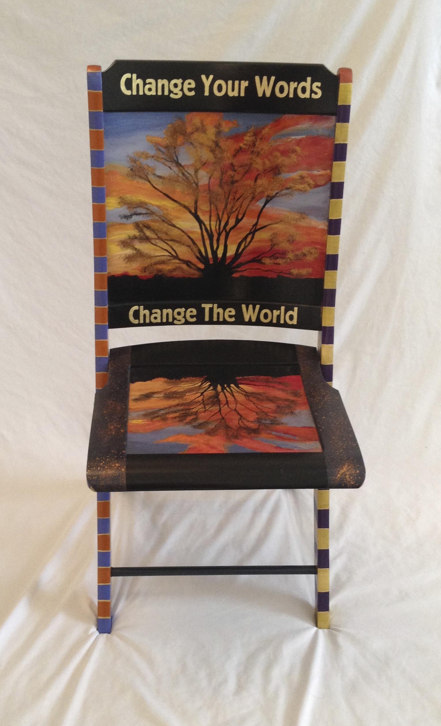 Chair # 4 Nancy Woods