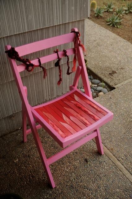 Chair # 77 Sylvia Wuensche-Weinands