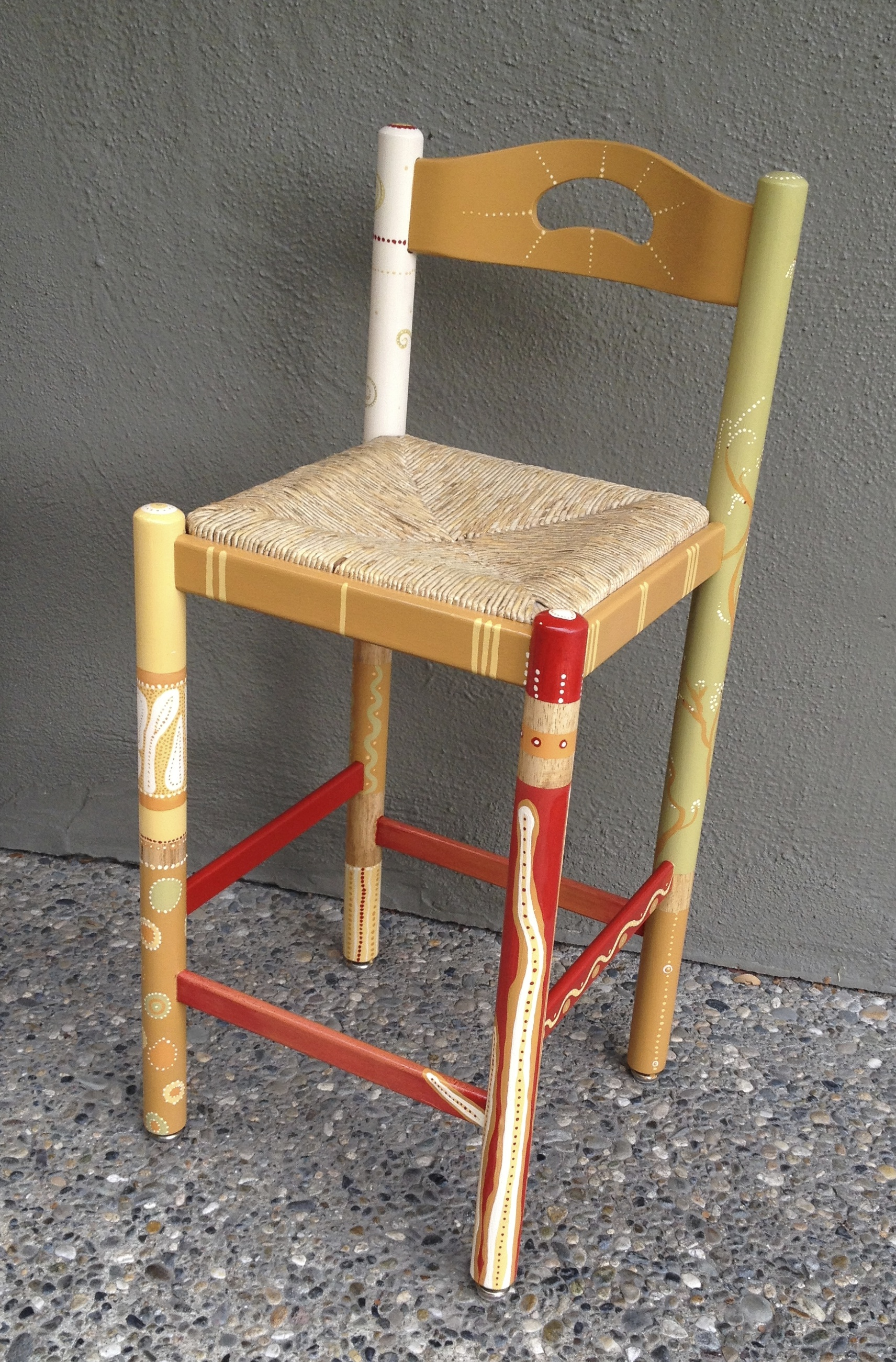 Chair # 64 Barbara Cromarty