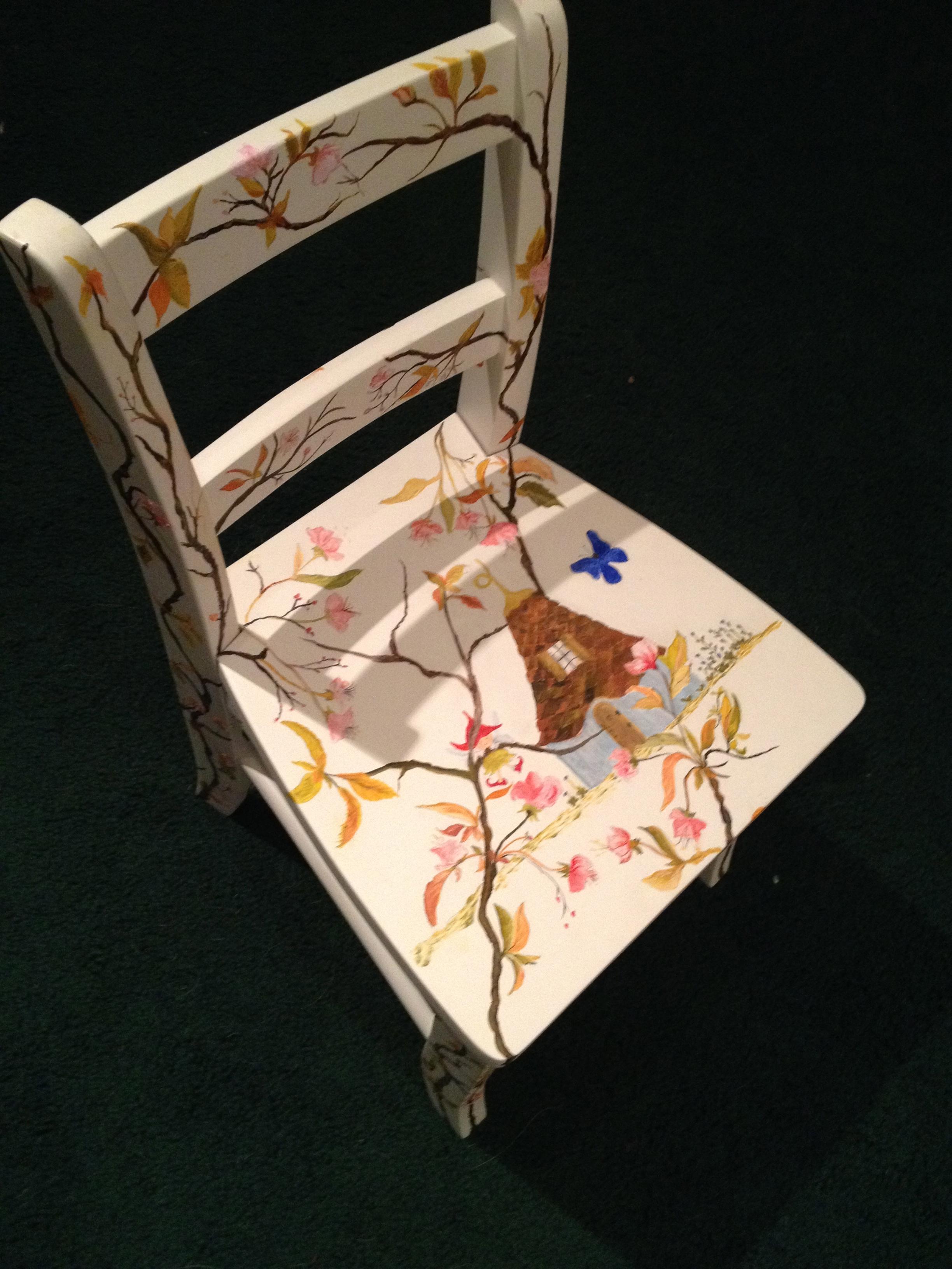 Chair # 71 Leslie McLaren