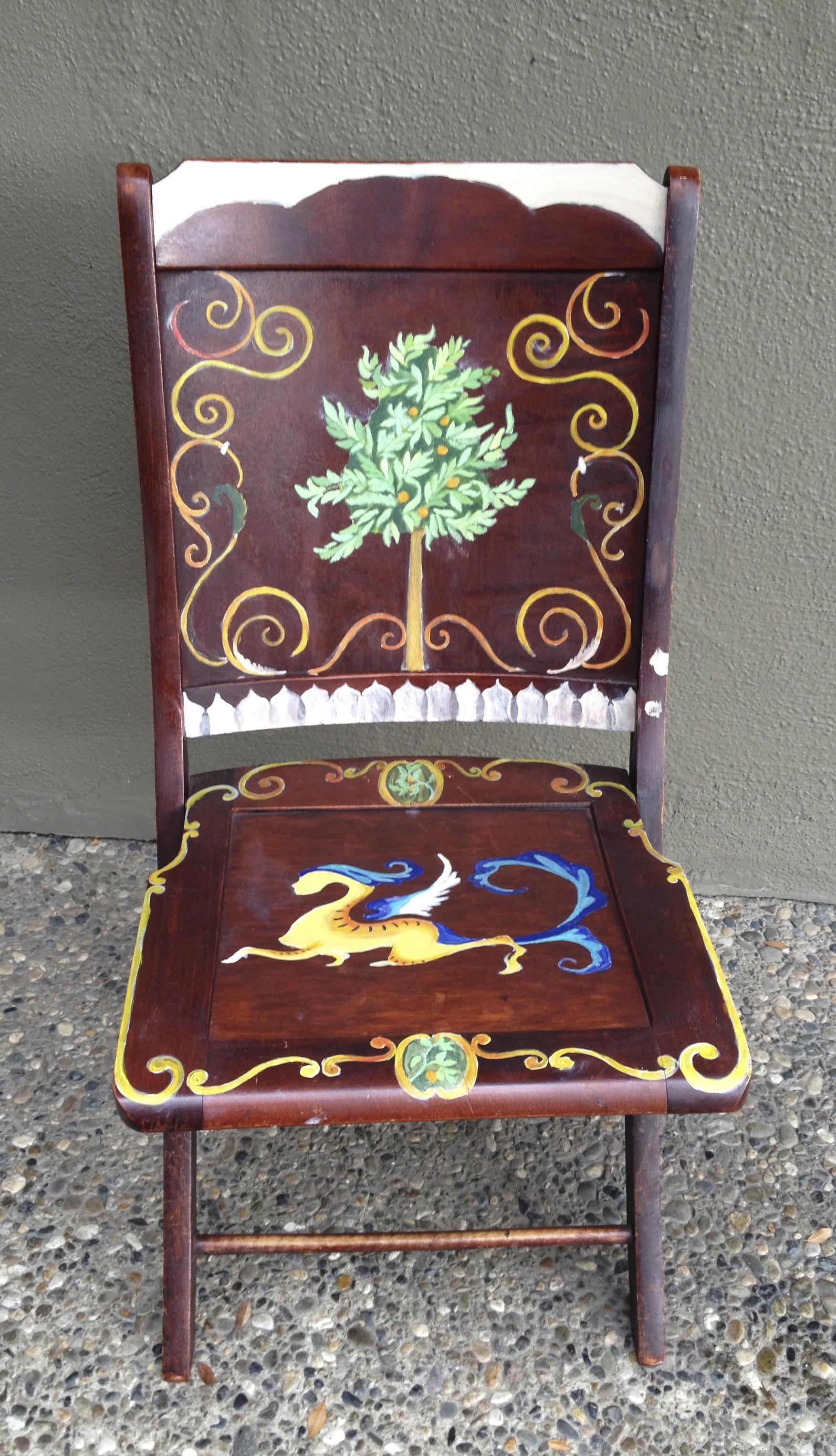 Chair # 54 Monika Fowle