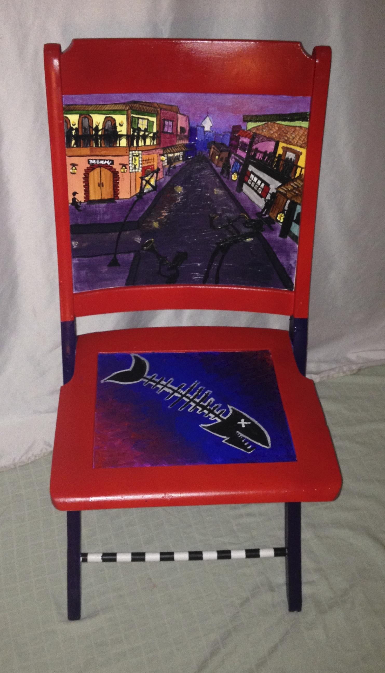 Chair # 52 Jackie Bierre