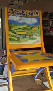 Chair # 18 Kay Culpepper