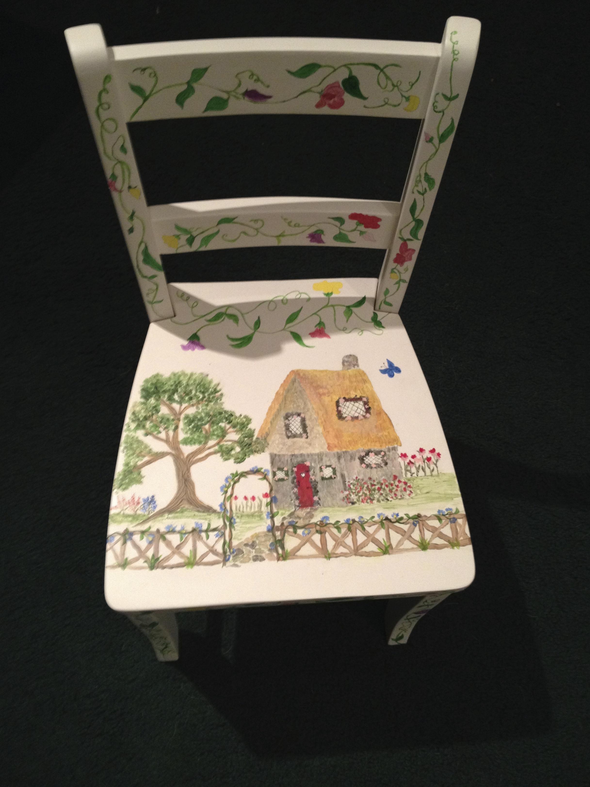 Chair # 70 Leslie McLaren