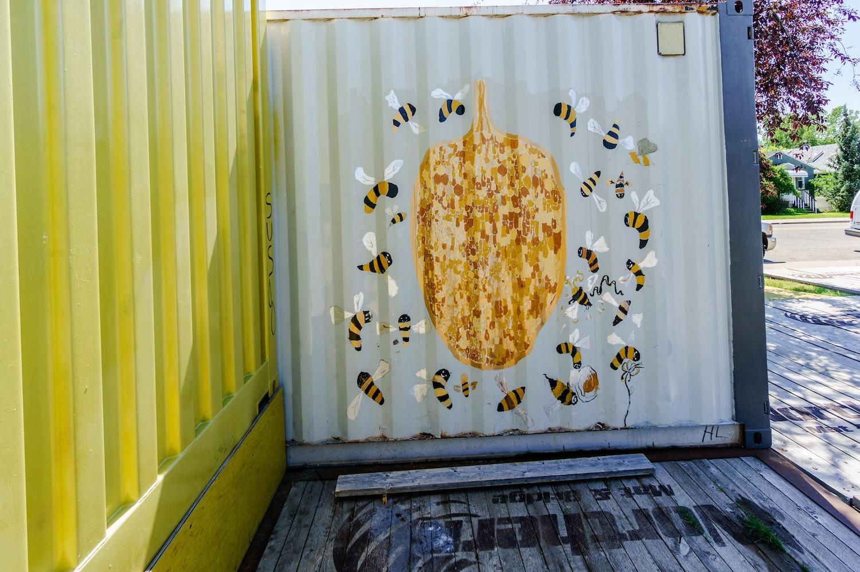 Honeycomb Mural