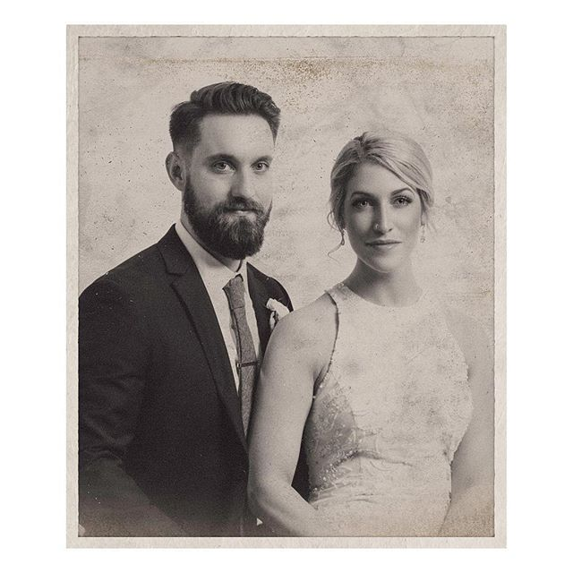 Two of my favorites got married a few weeks ago. Here's a portrait of them.