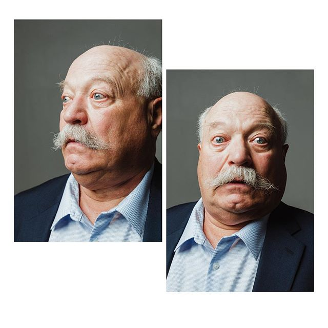 Got to take photos at a Wilford Brimley look alike contest. Clearly @thelittlenick dad was the winner. #diabeetus