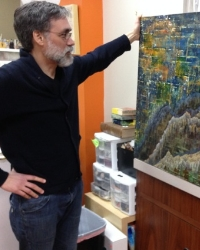 Scott Burnett  Acrylic Artist Helped launch ARTspot