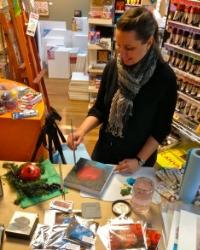 Angela Bandurka  Gallery Artist, Art Instructor