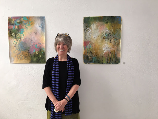 Click here for a great step-by-step blog post of artist Judy Wise's Paint Over Project. Judy chose to complete her challenge in 30 consecutive days. You will see her progress and daily reactions.