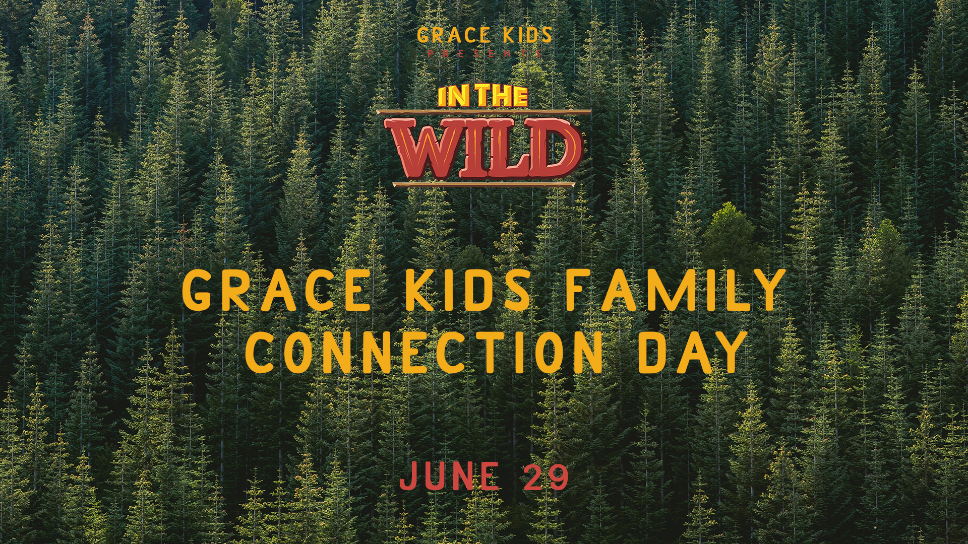 All Grace Kids families are invited to join us for our first Family Connection Day, Saturday, June 29. Families will worship, play, laugh, compete, and eat together with other families of Grace Center. Lunch is provided.  (This will be our last day of VBS, but your family can attend even if your kids weren't able to join us for the first 4 days.  Register by June 20th.