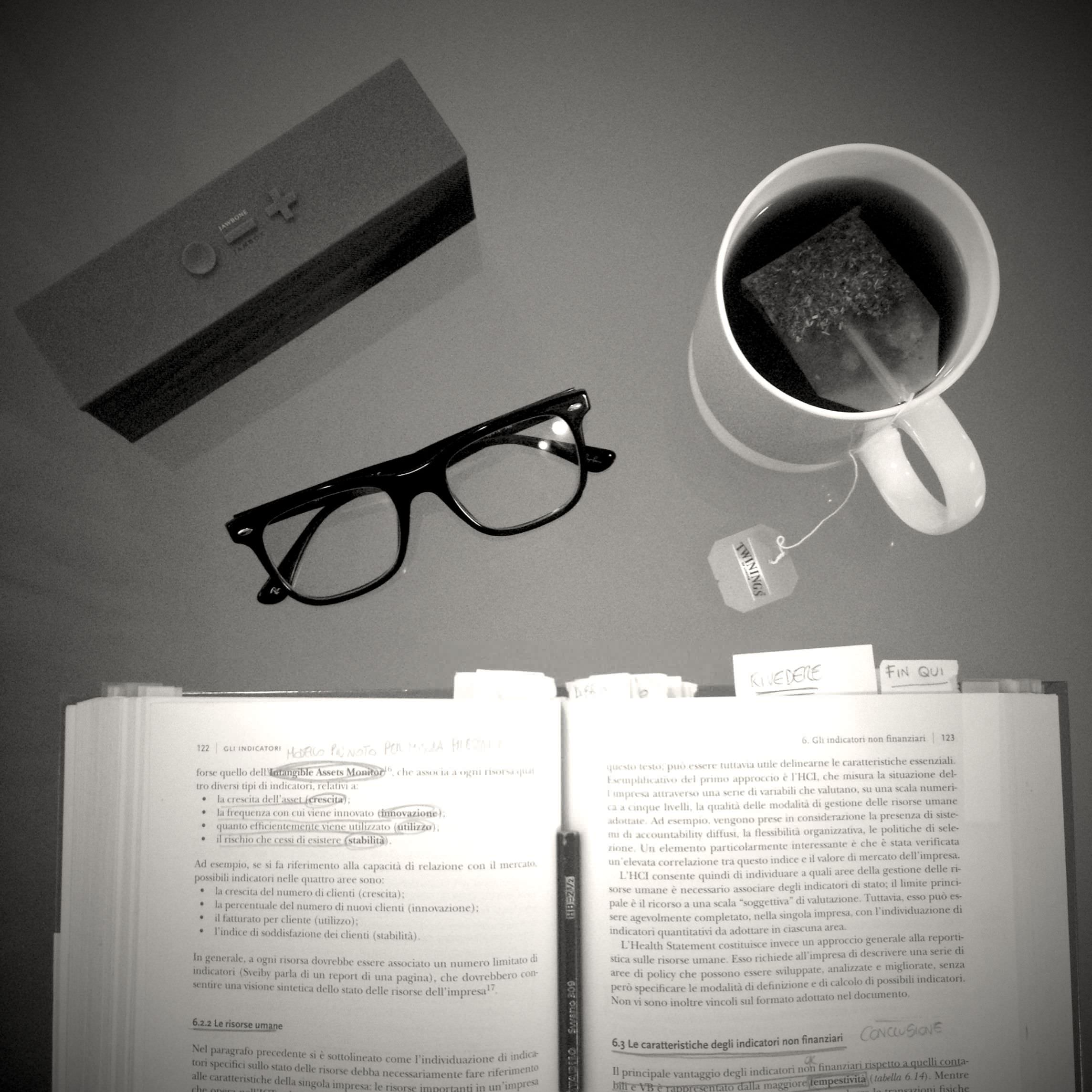 Never study without a good cup of tea