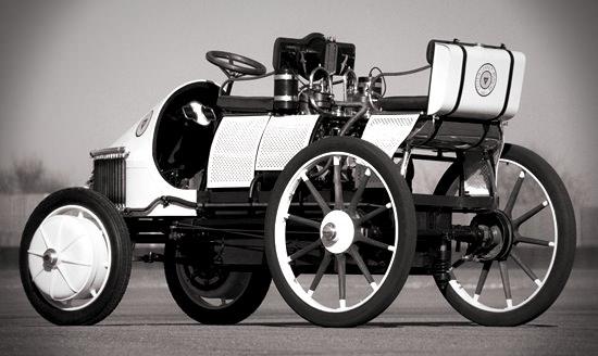 Ferdinand's hybrid car (1900)