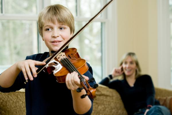 Our Award-Winning Violin Class: Parents can learn tips to help your child practice at home