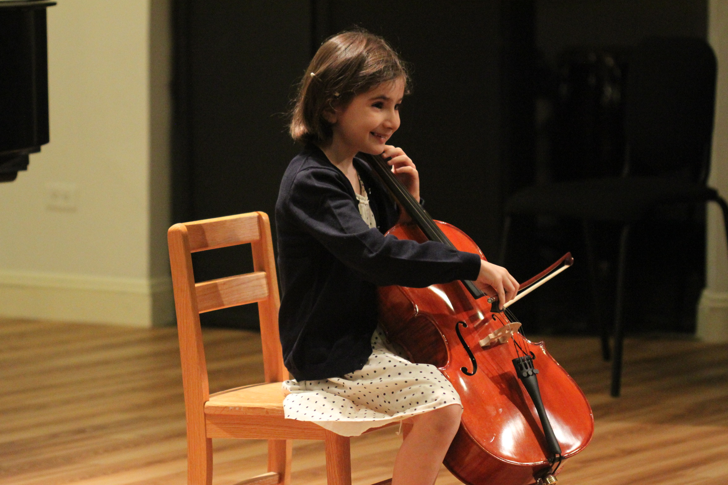 Poesis Music Academy offers studio lessons for violin, piano & cello