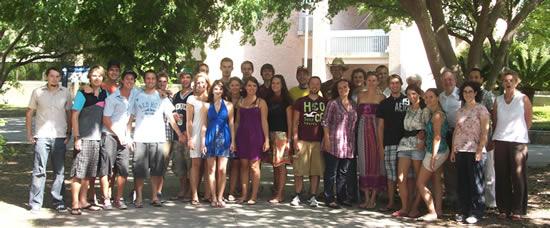 Spring 2010 Center Austria group.