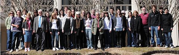 The 2010 Austrian Student Program at UNO. Photo: W. Palli.