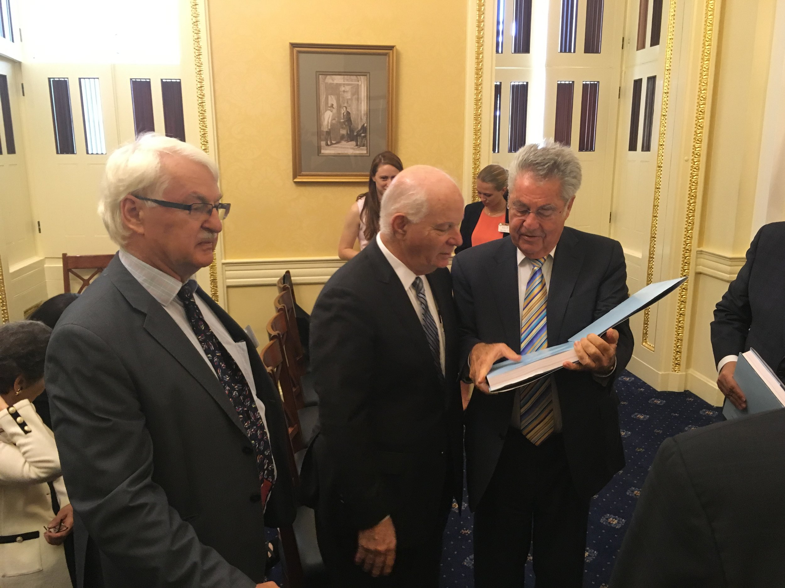 Senate Bischof Sen Cardin Pres Fischer.JPG