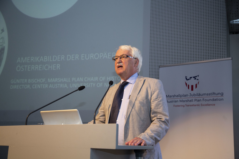 Professor Günter Bischof Photo courtesy of the Austrian Marshall Plan Foundation.