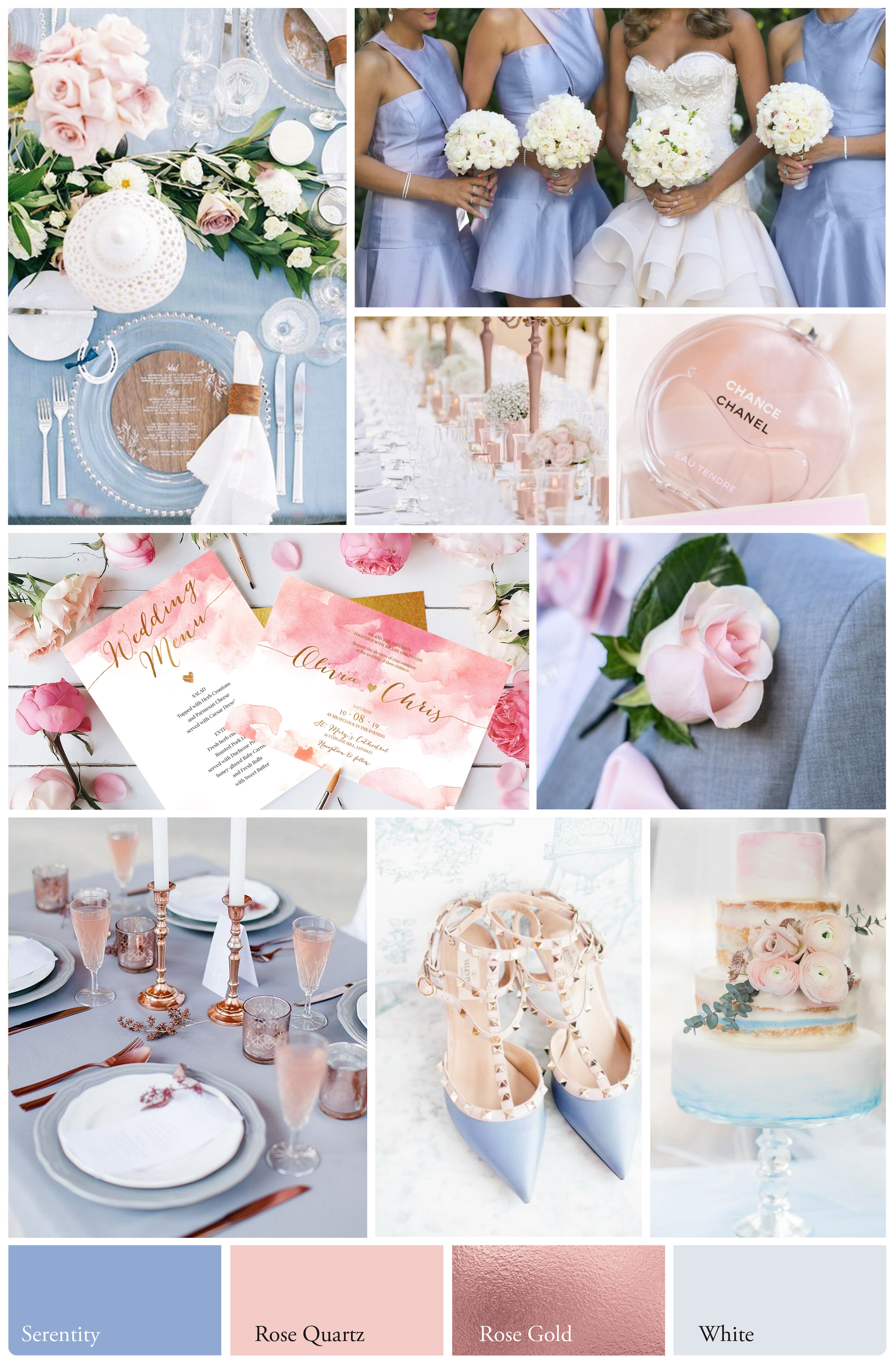 Charming & Romantic  - A charming wedding embodying a romantic and feminine feel. Rich in pastel and a whimsical feel with touches of rose gold for that air of luxury and class.