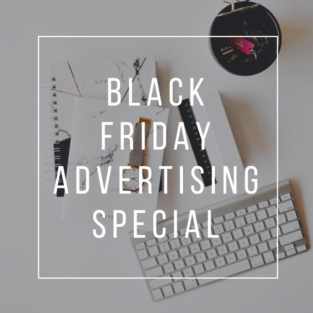 black friday advertising