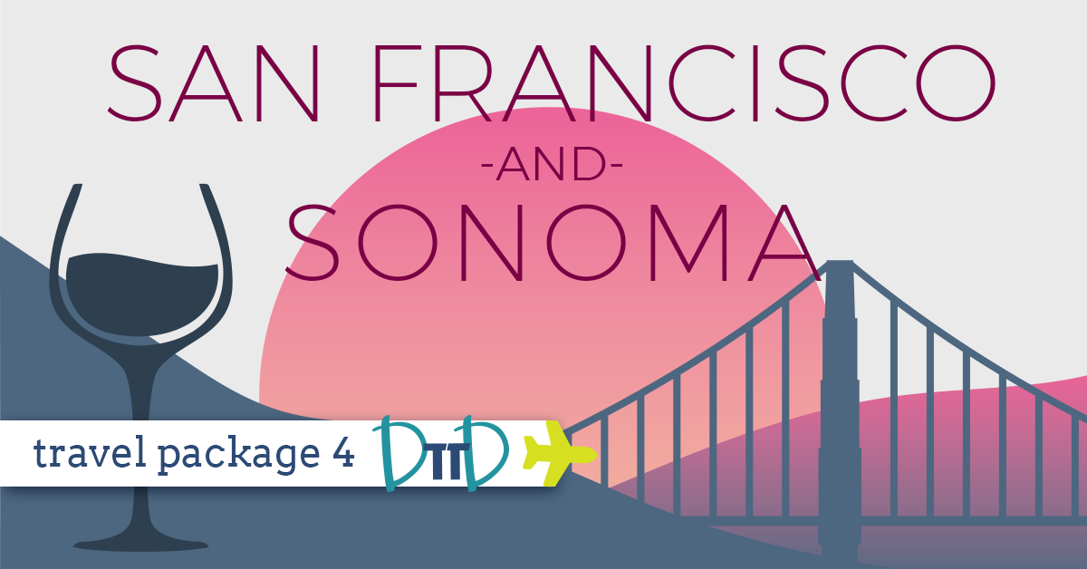 SAN FRANCISCO & SONOMA - WINERIES & COUNTRYSIDE    View Details >