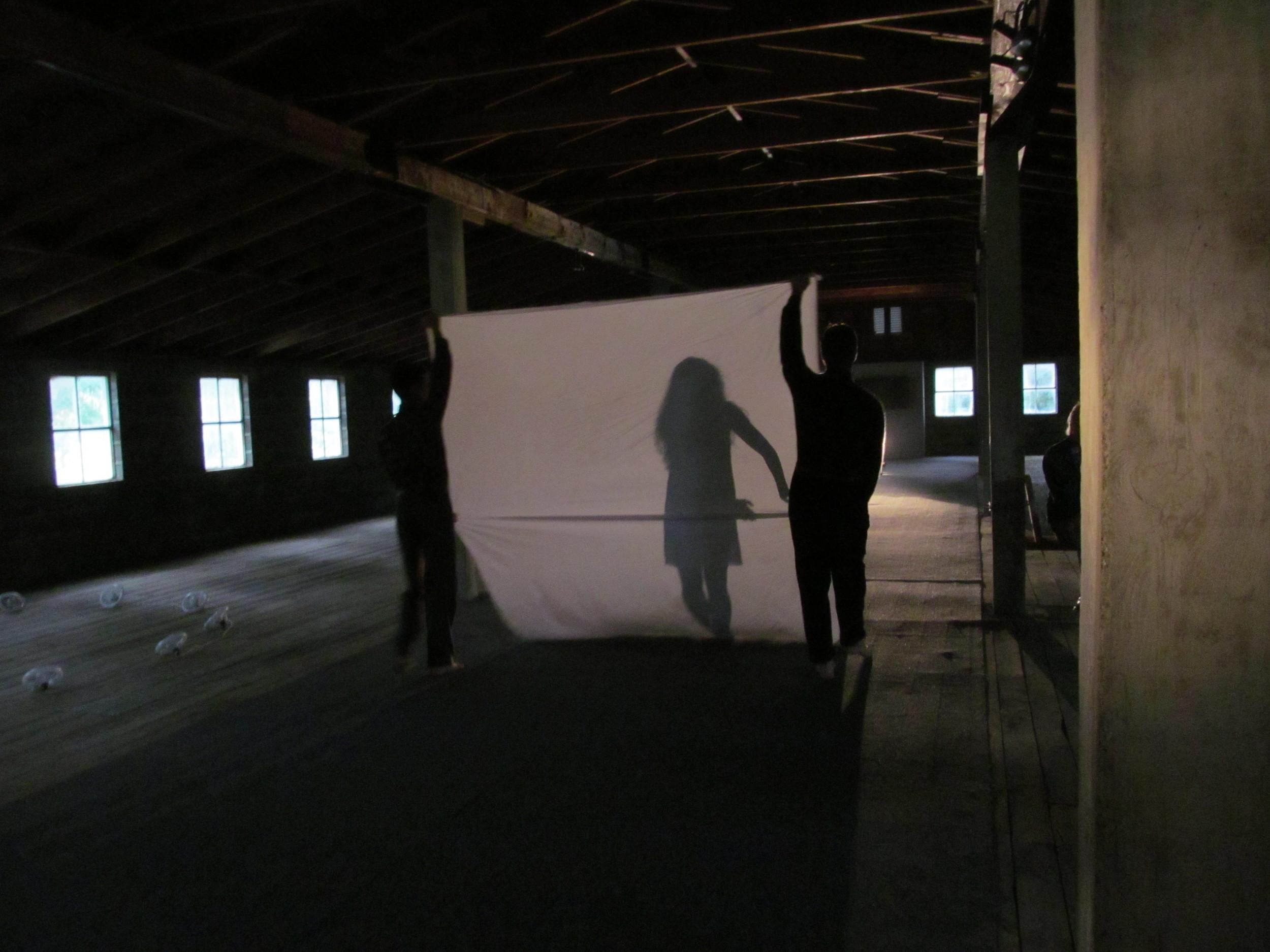 Adam H Weinert, Victoria Bek, Timothy Stanley| Hudson, NY | 2012 | Choreography by Adam Weinert | Photo by Daniel Rothbart