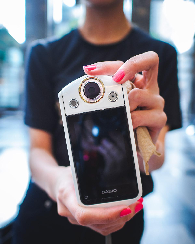 Casio TR-15 selfie camera